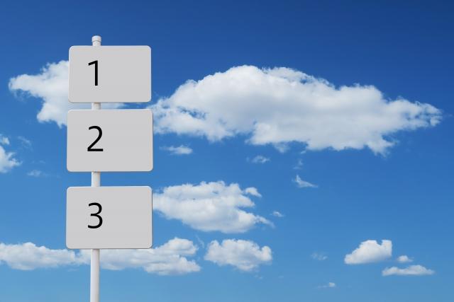 立て直しをするのに重要な三要素